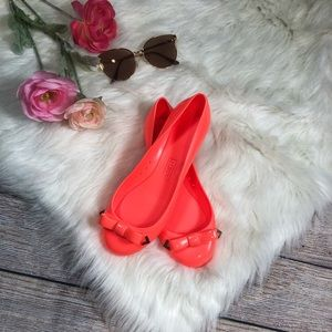 J. Crew Rainy Day Jelly Ballet Flats